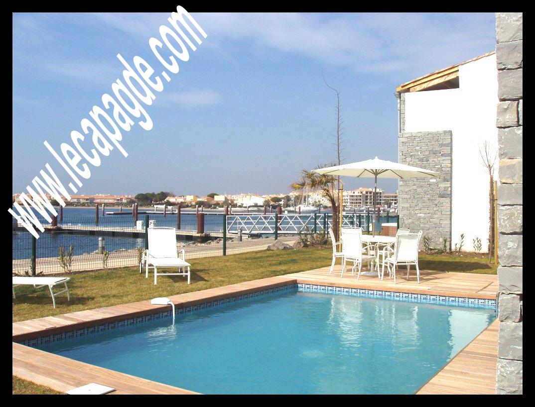 Nice Votre Marina Avec Piscine Privée. Marinas Villas De Prestige Agence Cap Du0027 Agde Le Tuc Immobilier