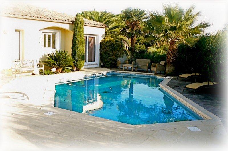 villa de prestige a vendre au cap d 39 agde avec ponton pour votre bateau iles saint martin. Black Bedroom Furniture Sets. Home Design Ideas